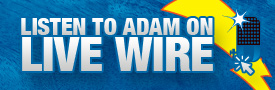 Listen to Adam on Live Wire