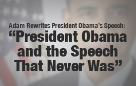 The Speech That Never Was